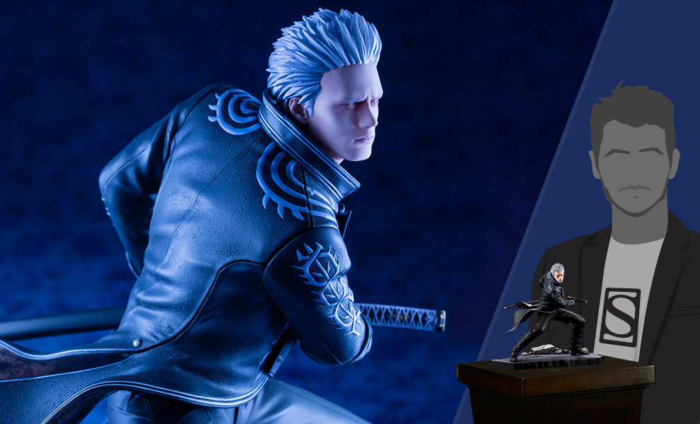 Gallery Feature Image of Vergil Statue - Click to open image gallery
