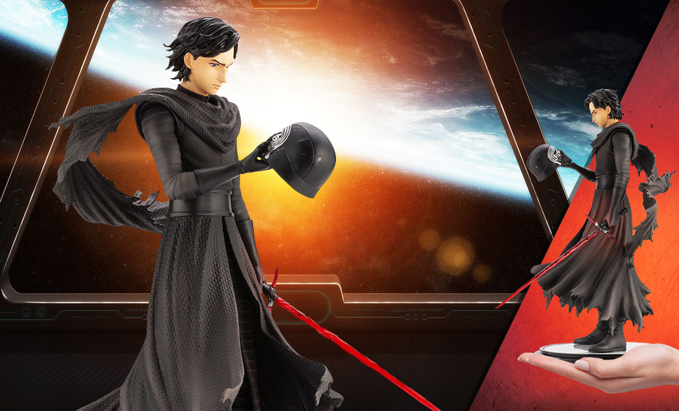 Gallery Feature Image of Kylo Ren Statue - Click to open image gallery