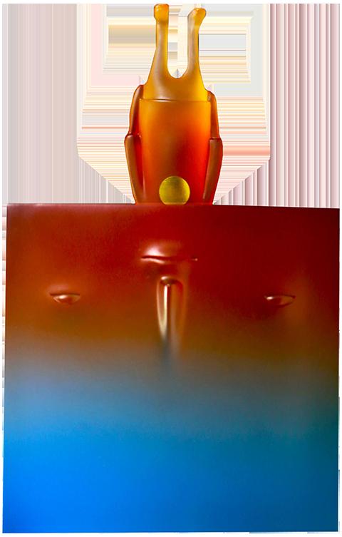 Mighty Jaxx Sideways (Sunrise Edition) Designer Toy