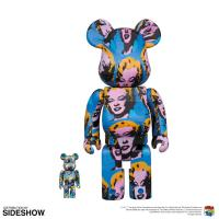 Gallery Image of Be@rbrick Andy Warhol's Marilyn Monroe 100% and 400% Collectible Set