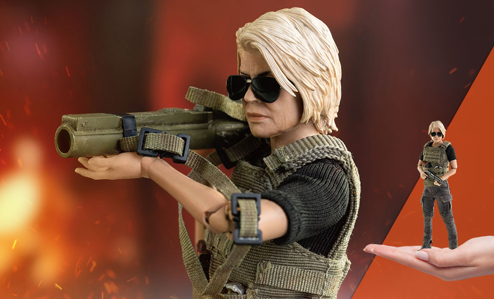 Gallery Feature Image of Sarah Connor Collectible Figure - Click to open image gallery