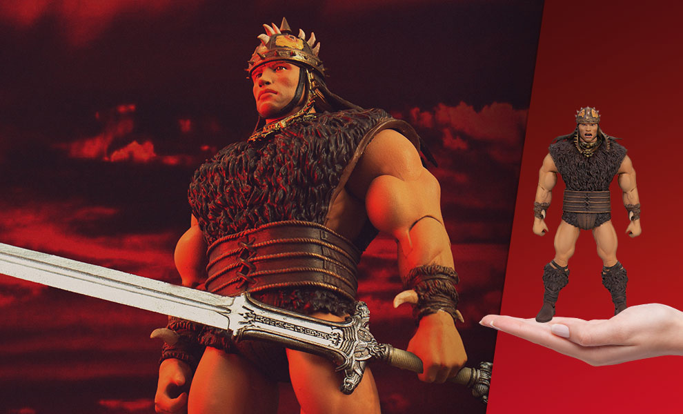Gallery Feature Image of Conan the Barbarian Action Figure - Click to open image gallery
