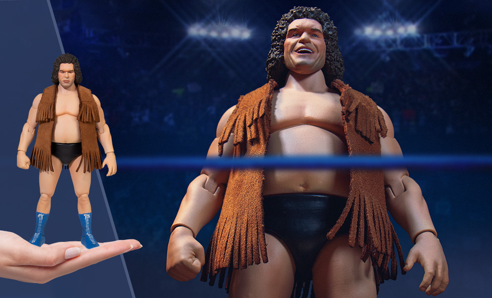 Gallery Feature Image of Andre the Giant Action Figure - Click to open image gallery