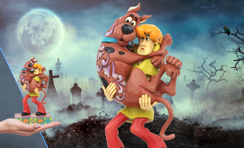 Gallery Feature Image of Shaggy Holding Scooby-Doo Figurine - Click to open image gallery