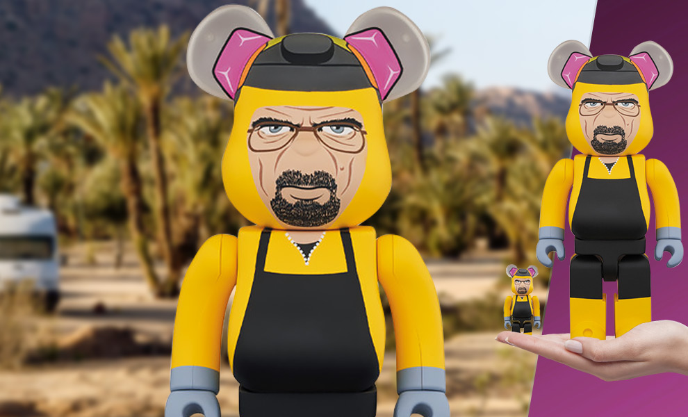 Gallery Feature Image of Be@rbrick Walter White 100% and 400% Collectible Set - Click to open image gallery