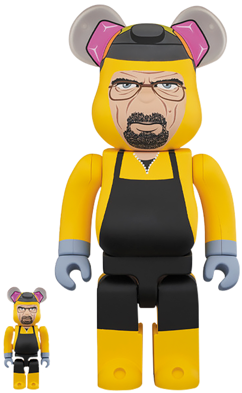 Medicom Toy Be@rbrick Walter White 100% and 400% Collectible Set