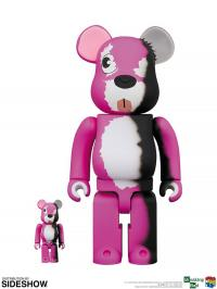 Gallery Image of Be@rbrick Pink Bear 100% and 400% Collectible Set