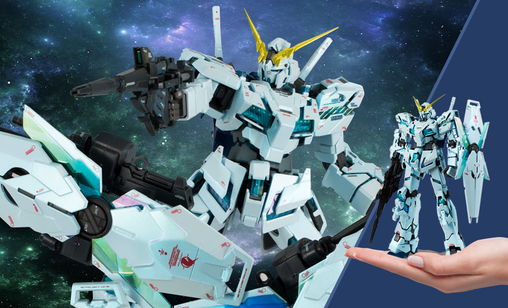 Gallery Feature Image of Unicorn Gundam (Final Battle Version) GFFMC Collectible Figure - Click to open image gallery