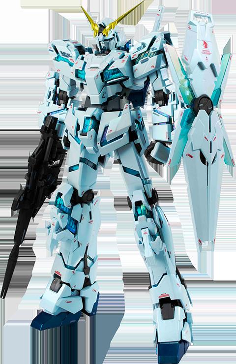 Bandai Unicorn Gundam (Final Battle Version) GFFMC Collectible Figure