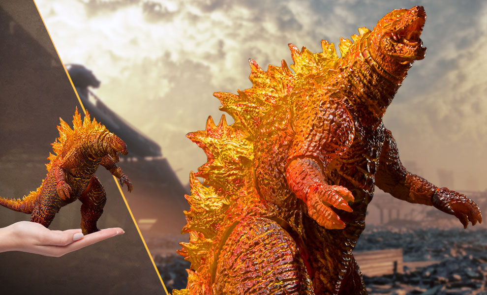 Gallery Feature Image of Burning Godzilla Collectible Figure - Click to open image gallery