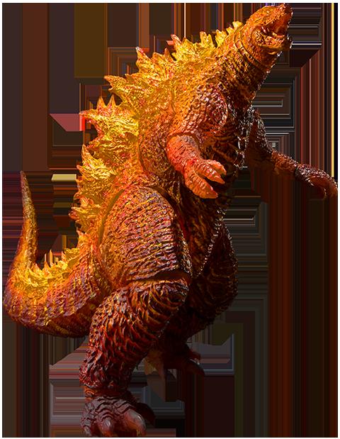 Bandai Burning Godzilla Collectible Figure