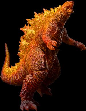 Burning Godzilla Collectible Figure