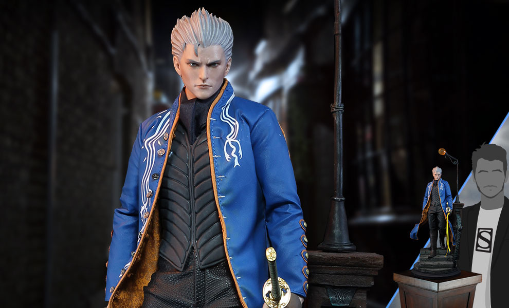 Gallery Feature Image of Vergil (Luxury Edition) Sixth Scale Figure - Click to open image gallery