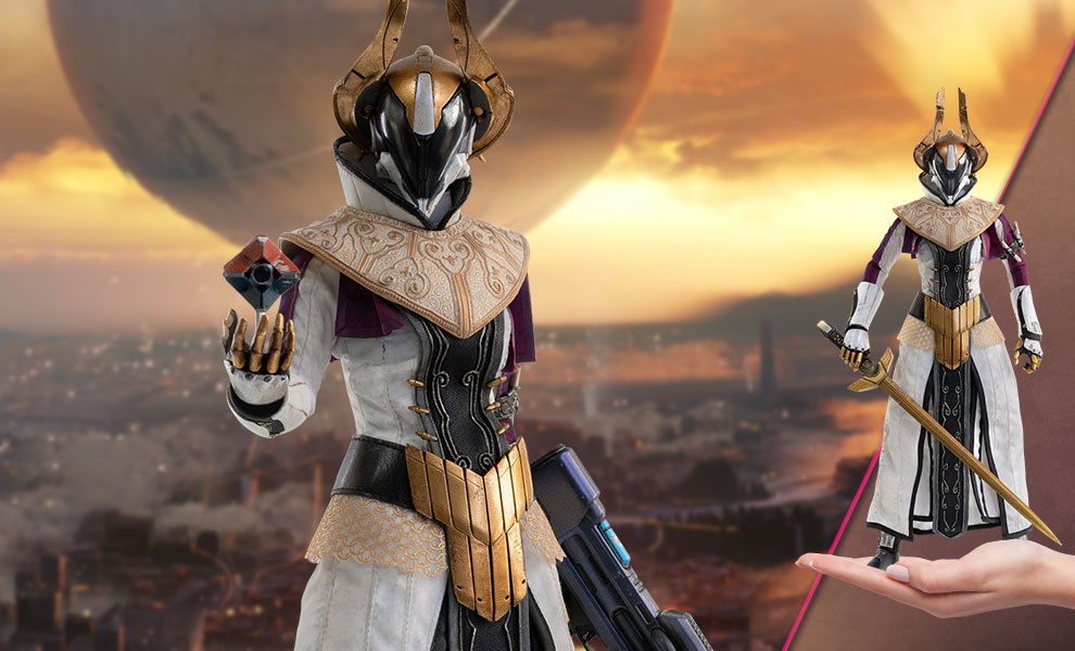Gallery Feature Image of Warlock Philomath (Calus's Selected Shader) Sixth Scale Figure - Click to open image gallery