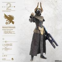 Gallery Image of Warlock Philomath (Golden Trace Shader) Sixth Scale Figure