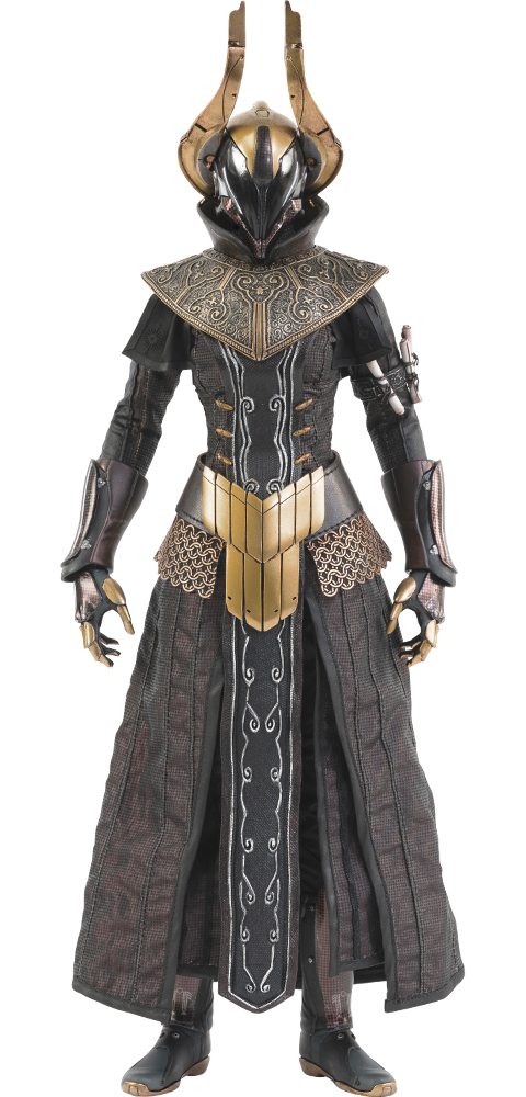Threezero Warlock Philomath (Golden Trace Shader) Sixth Scale Figure