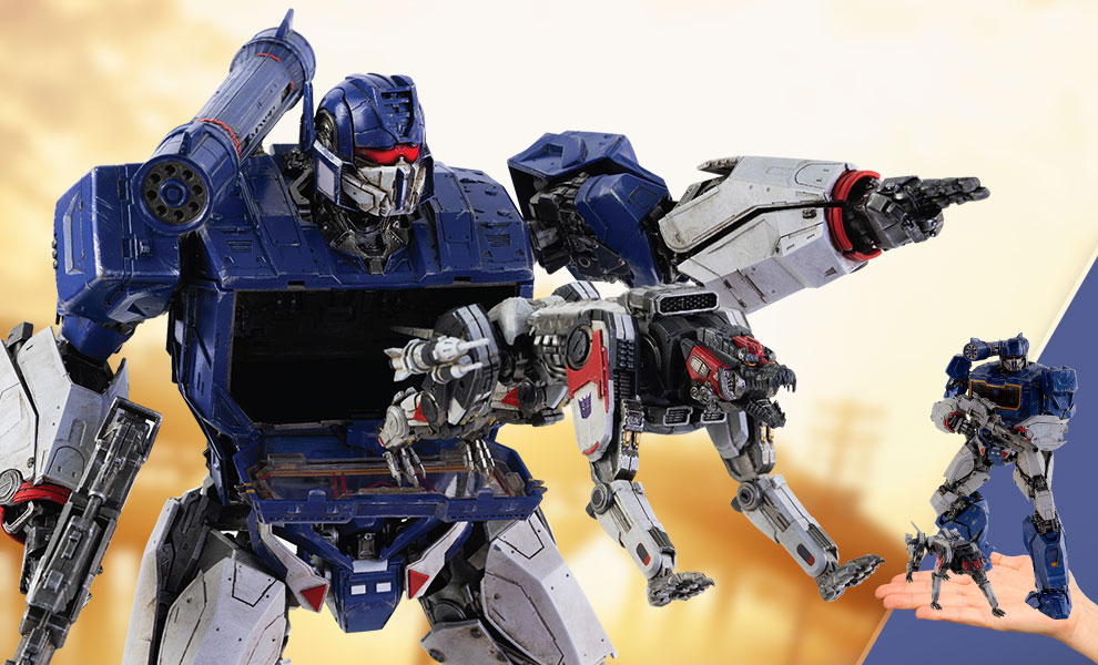Gallery Feature Image of Soundwave & Ravage Collectible Figure - Click to open image gallery
