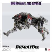 Gallery Image of Soundwave & Ravage Collectible Figure