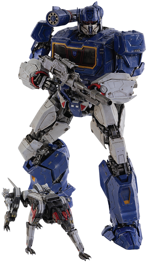 Soundwave and Ravage Threezero - Sideshow Collectibles