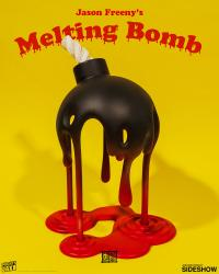 Gallery Image of Melting Bomb Polystone Statue
