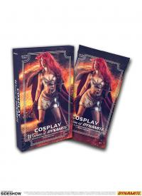 Gallery Image of Cosplay: Woman of Dynamite Deluxe Ultra-Premium Trading Cards Collectible Set