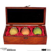 Gallery Image of Drogon, Rhaegal, Viserion Dragon Egg Shot Glasses Collectible Drinkware