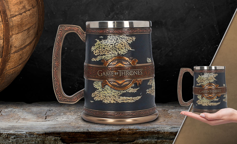 Gallery Feature Image of The Seven Kingdoms Tankard Collectible Drinkware - Click to open image gallery