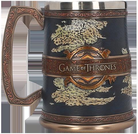 Nemesis Now The Seven Kingdoms Tankard Collectible Drinkware