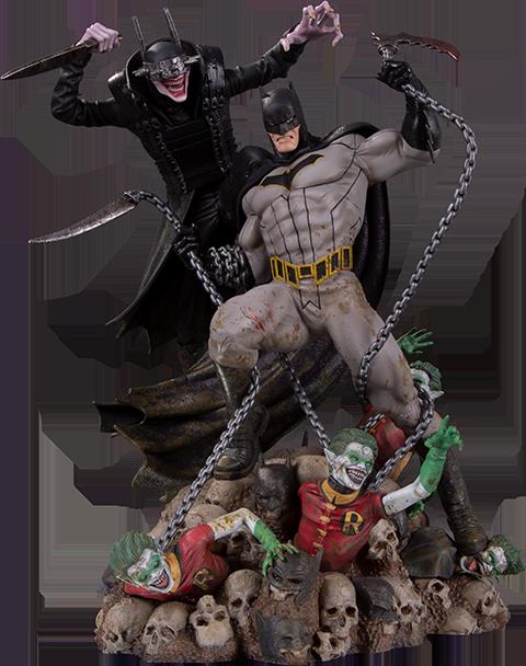 DC Collectibles Batman Who Laughs vs Batman Statue
