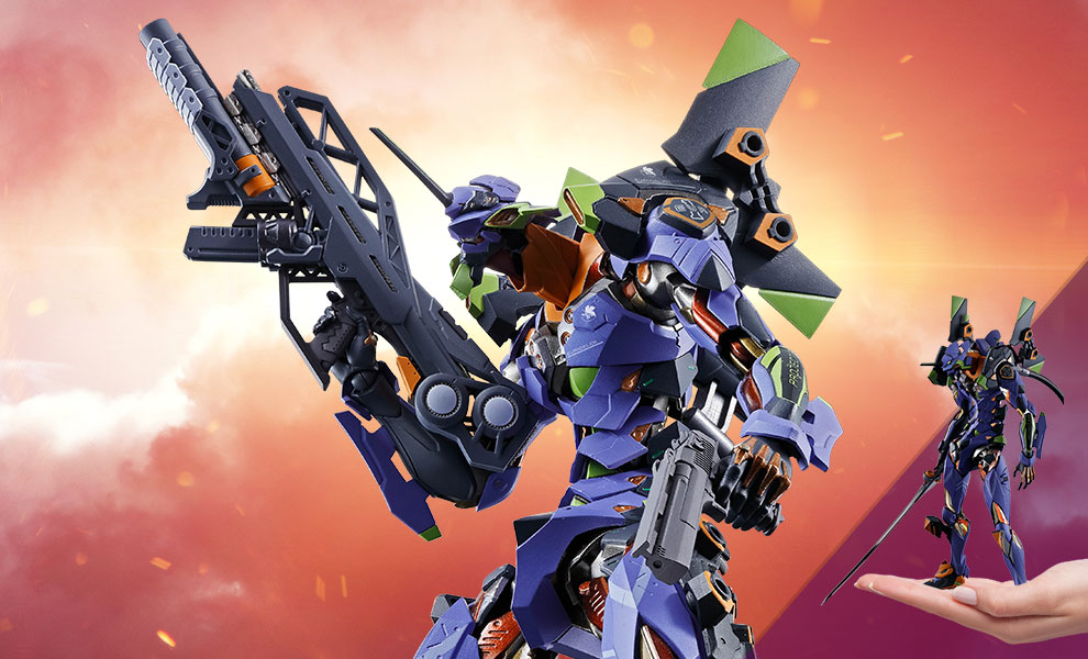 Gallery Feature Image of Eva-01 Test Type Collectible Figure - Click to open image gallery