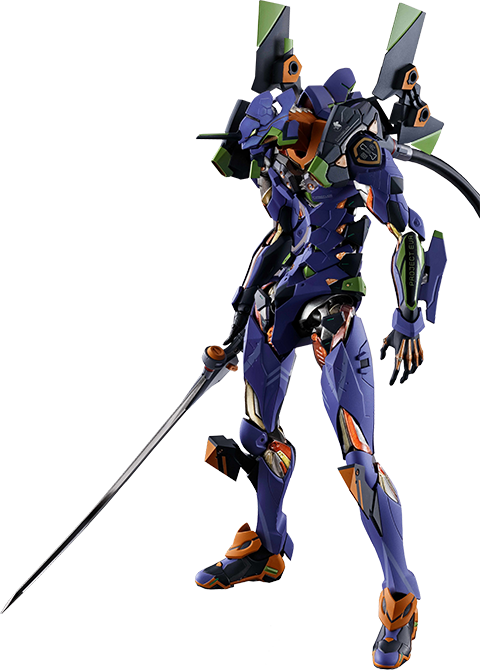 Bandai Eva-01 Test Type Collectible Figure