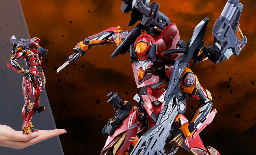 Gallery Feature Image of Eva-02 Production Model Collectible Figure - Click to open image gallery