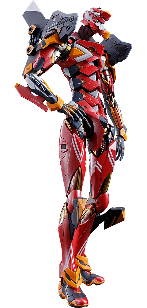 Bandai Eva-02 Production Model Collectible Figure