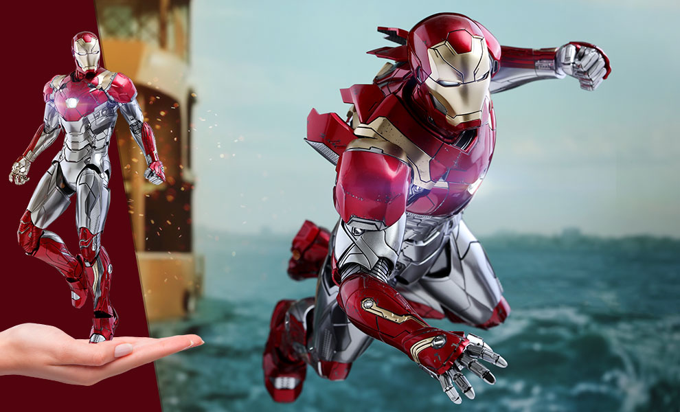Gallery Feature Image of Iron Man Mark XLVII Sixth Scale Figure - Click to open image gallery