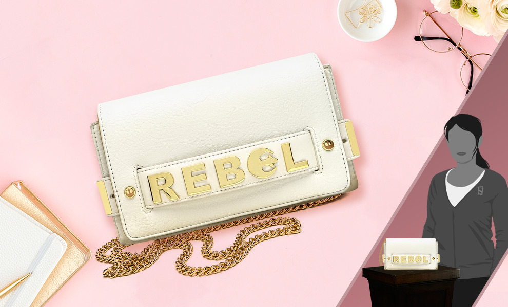 Gallery Feature Image of Star Wars Rebel Small Crossbody Apparel - Click to open image gallery