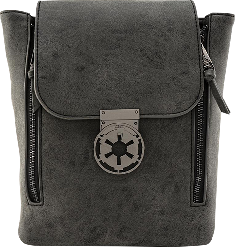 Loungefly Star Wars Imperial Metal Closure Convertible Backpack Apparel