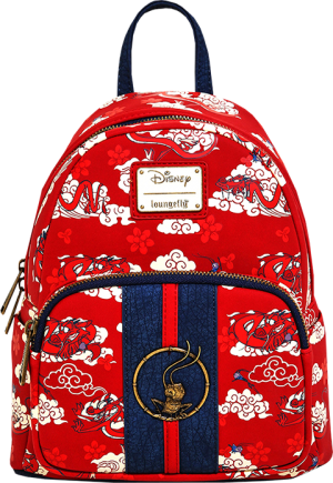 Mulan Mushu Cloud Mini Backpack Apparel