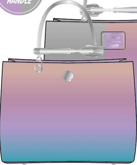 Loungefly The Little Mermaid Dinglehopper Handbag Apparel