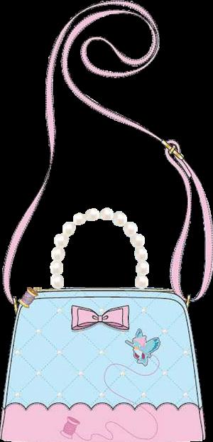 Cinderella 70th Anniversary Pearl Handle Crossbody Apparel