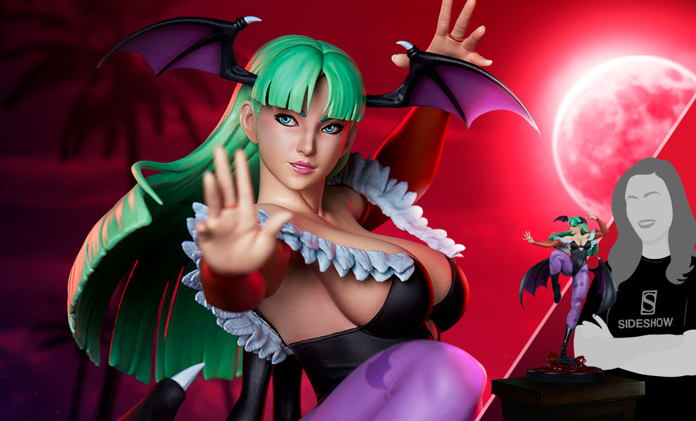 Gallery Feature Image of Chun-Li: Morrigan Statue - Click to open image gallery