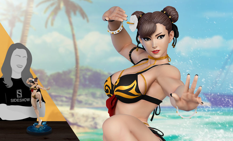 Street Fighter Chun Li Player 2 Battle Statue By Pop Culture Shock Sideshow Collectibles