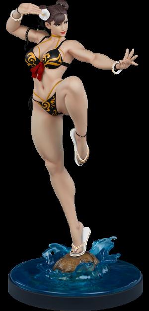 Chun-Li: Player 2 Battle Statue