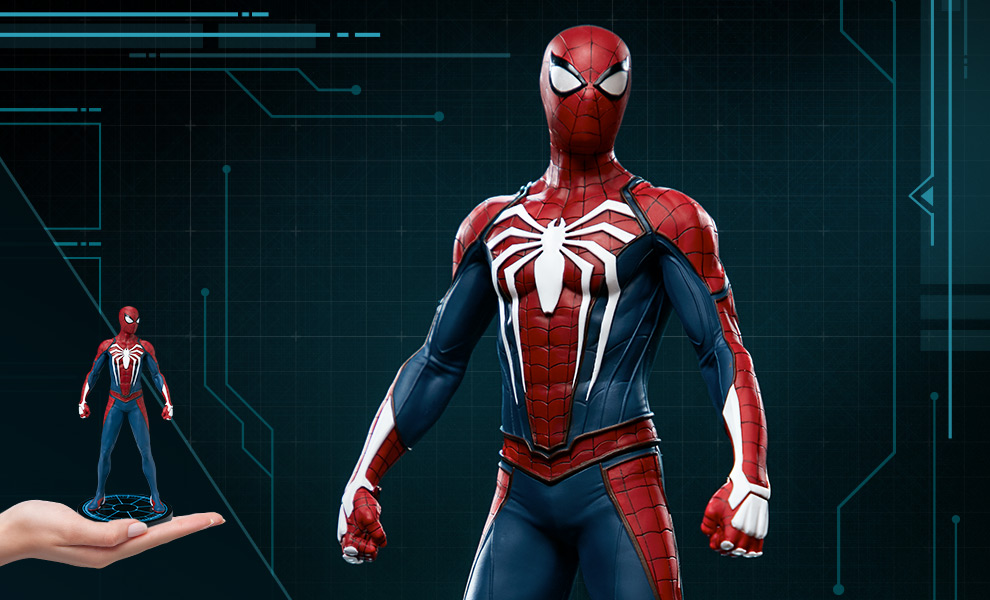 Gallery Feature Image of Marvel's Spider-Man - Advanced Suit 1:10 Scale Statue - Click to open image gallery