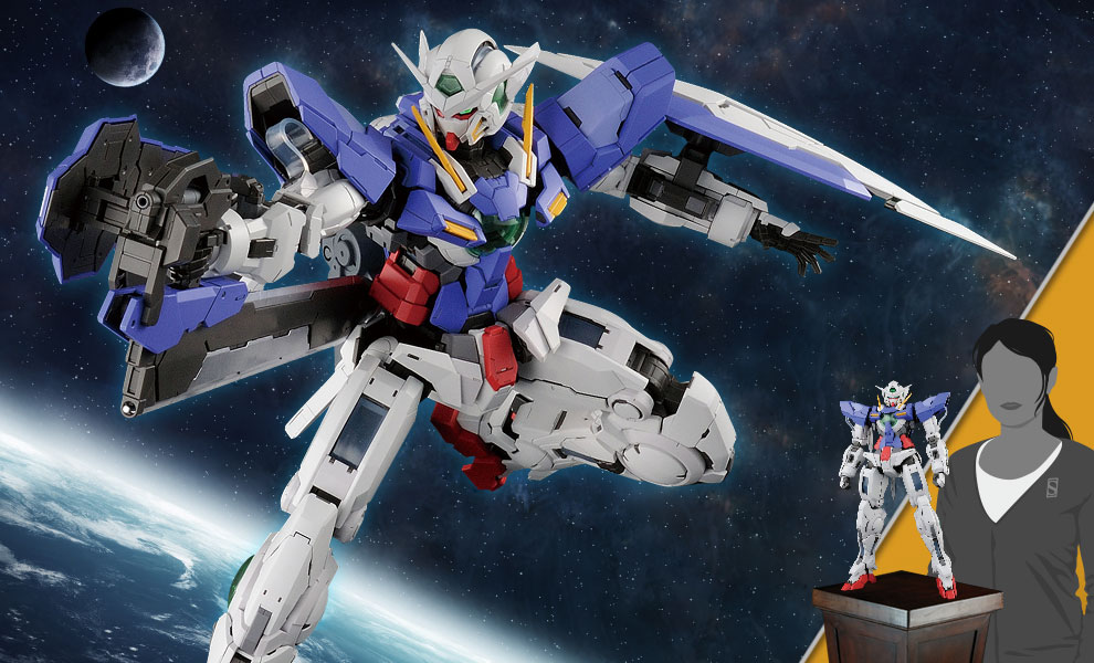 Gallery Feature Image of Gundam Exia Figure - Click to open image gallery