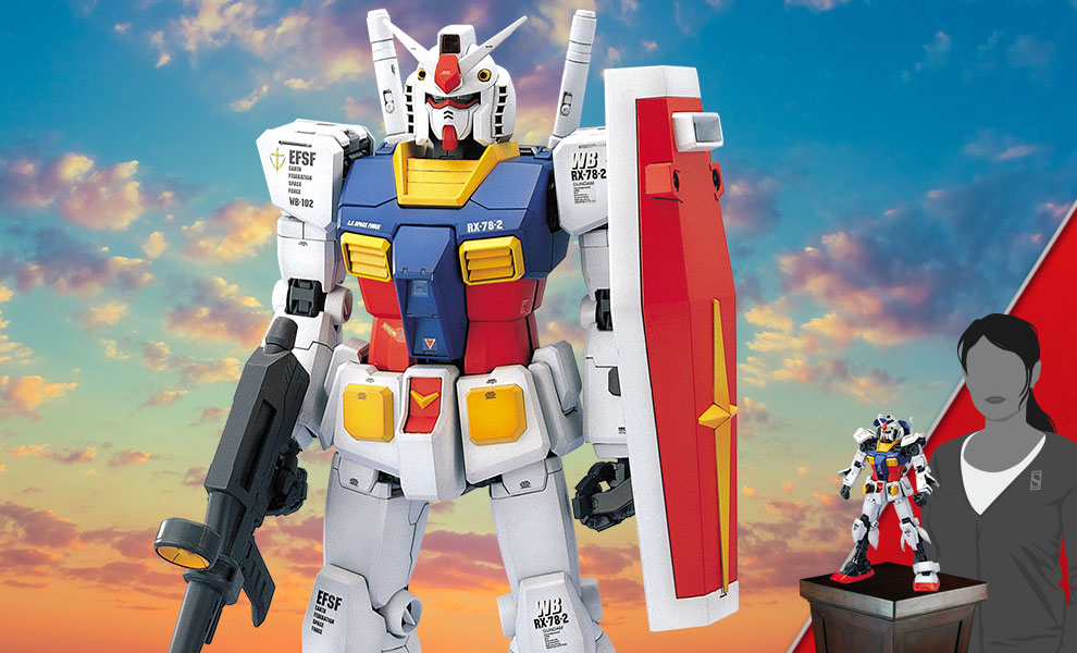 Gallery Feature Image of RX-78-2 Gundam Model Kit - Click to open image gallery