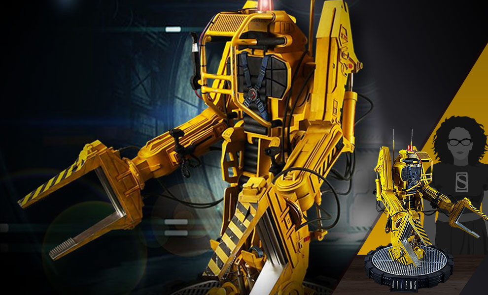 Gallery Feature Image of Alien Power Loader Statue - Click to open image gallery