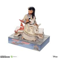 Gallery Image of White Woodland Mulan Figurine