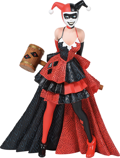 Enesco, LLC Harley Quinn Couture de Force Figurine