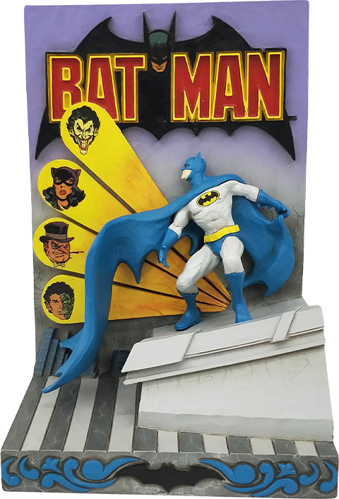 Enesco, LLC Batman 3D Comic Book Figurine
