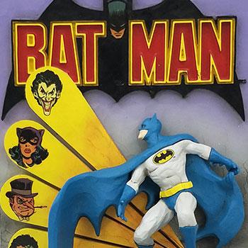 Batman 3D Comic Book Figurine